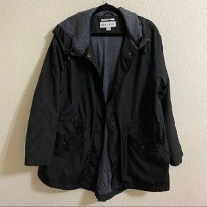 Ava & Viv Plus Size Rain Jacket - 1X